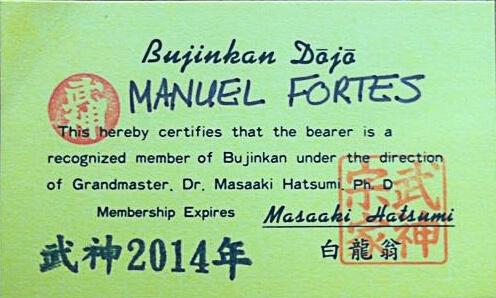 Ninjutsu in Zaandam diploma