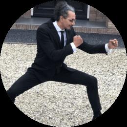 Manuel Costa Fortes en ninja technieken
